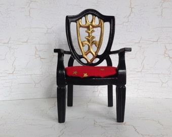 Miniature Black Chair