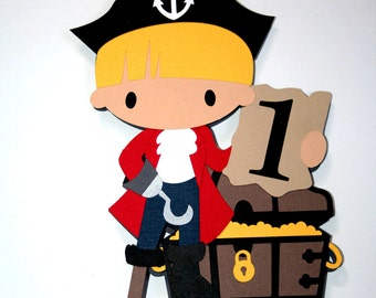 Pirate Cake Topper or Centerpiece
