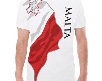 Malta Men's Classic Flag Tee 2.0