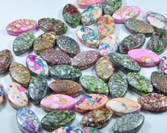 PE329 - Set of 20 multicolored beads