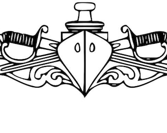 Navy Surface Warfare Officer SVG
