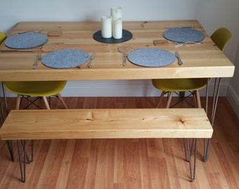 Solid Hand Made Traditional Kitchen/Dining Tables and desks to Order.