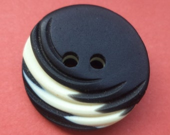 12 buttons black 18mm (1281) button