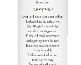 In Memory of a deceased Parent or Grandparent on Wedding Day
