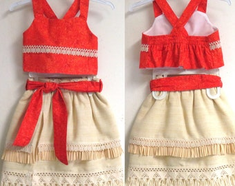 Bubbles Baby Dress Moana Birthday Costume