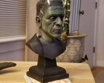 Frankenstein's Monster Inspired Bust (FREE SHIPPING!)