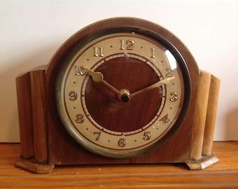 Westclox Clock - Vintage Mantel Shelf Clock