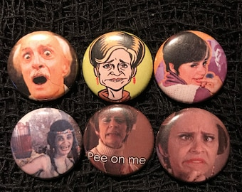 "Strangers With Candy 1"" Pin Set"