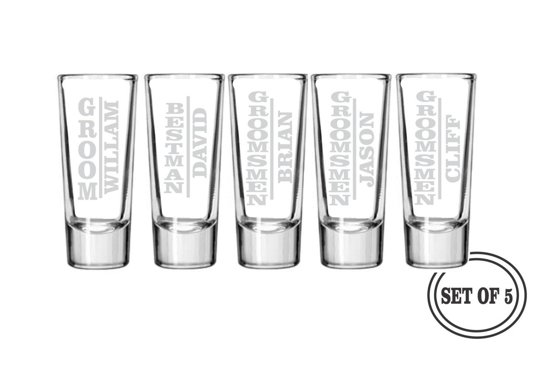 Engraved Shot Glasses Wedding Favors Images - Wedding Decoration Ideas