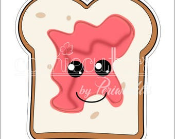 Slice of Toast Cookie Cutter - Bread Slice Cutter - Food Cookie Cutte - Periwinkles