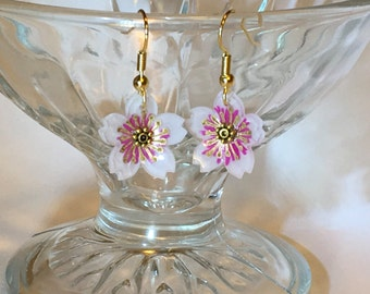 Cherry Blossom - Sakura - Drop Earrings