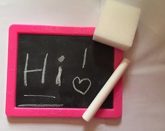 Doll size  Chalkboard set