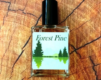 Forest Pine Cologne Oil 1/2 oz. - Wildnerness Cologne, Forest Cologne, Woodsy Cologne, Woodsy Perfume, Wilderness Perfume, Forest Perfume