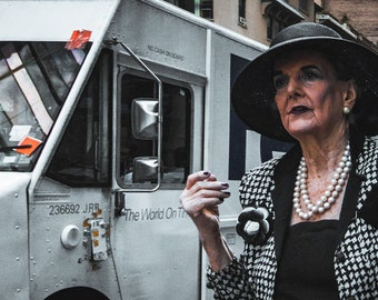 Wall Street Woman Street Photography