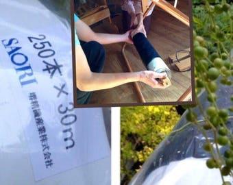 Saori warp cotton  250x30  ready made  warp   :saorisantacruz