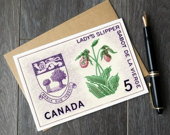 prince edward island, PEI canada, PEI postcards, prince edward island postcards, retirement cards, canada retirement, provincial flowers