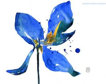 Floral Original Watercolor