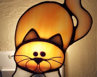 Crawling Kitten Night Light