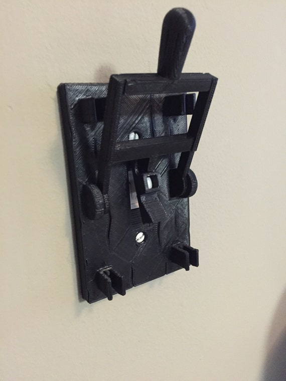 & Frankenstein style light switch plate Turn any room into a