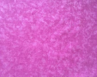 quilt cotton fabric pink tie dye by the yard
