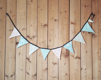 Triangle flags for nursery or childrens birthday