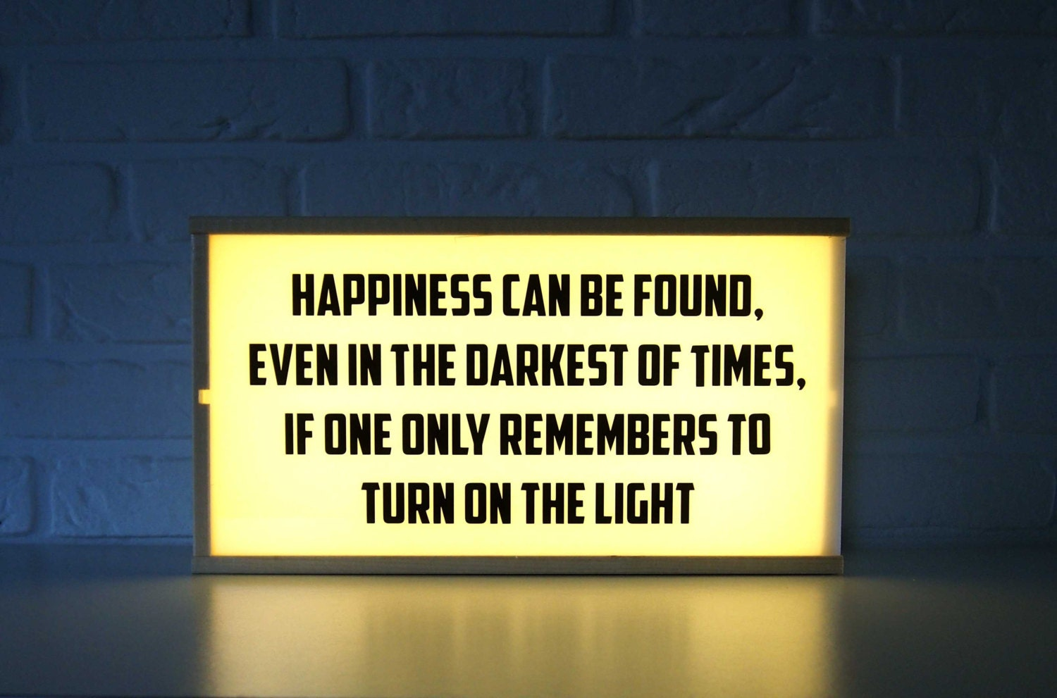 Harry Potter Light box Happiness can be found... home