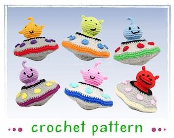 Alien Invasion - Amigurumi - Crochet Pattern