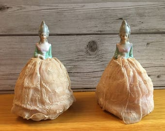 Vintage Half Doll Egg Cosies, Crinoline Lady, Cosy, Cozy