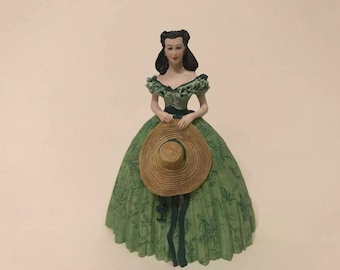 1990 Franklin Mint Gone With The Wind Scarlett OHara Figurine