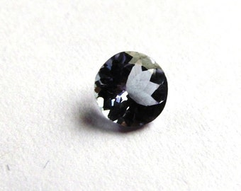 5mm Round Tanzanite Solitaire Loose Gemstone of .41 Carats
