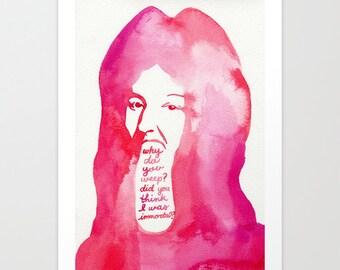 Last Words of Louis XIV // Chromogenic Photographic Print
