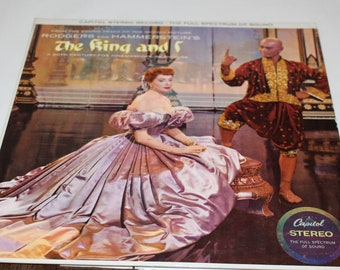 Rodgers And Hammerstein The King And I, Vinyl 33 RPM Record Vintage Vinyl