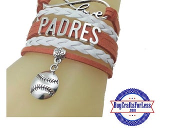 SAN DIEGO Leather Bracelet-U Choose CHaRM +Discounts & FREE Shipping*
