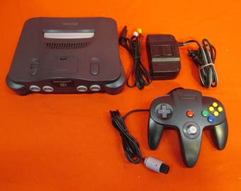 Nintendo 64 N64 System Video Game Console  - RETRO VINTAGE GAMING