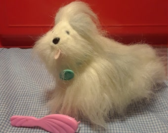 Vintage 1992 Barbie tag a long wags dog