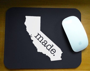 California 'Made' Computer Mouse Pad