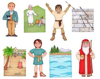 Follow The Prophet Clip Art (Book of Mormon Prophets)