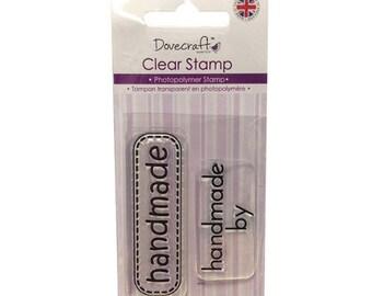 HANDMADE STAMP SET HANDMADE SCRAPBOOKING SCRAP CARD CLEAR STAMP SET
