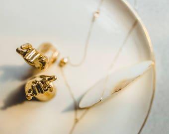 Jewelry Organizer | Gold Desk Organizer | Entryway Organizer | Jewelry Plate Gold | Gold Desk Decor | Bathroom Decor Gold | Cute Gifts Wife