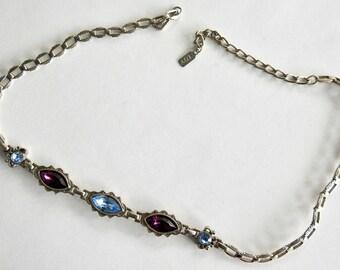 1928 Rhinestone Necklace