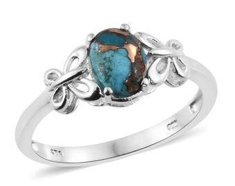 Mojave Blue Turquiose Ring