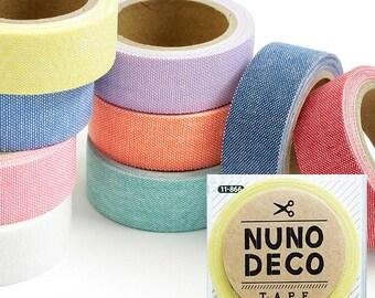 Cute Nuno Deco Iron-On / Adhesive Fabric Tape - Japanese Craft Supply