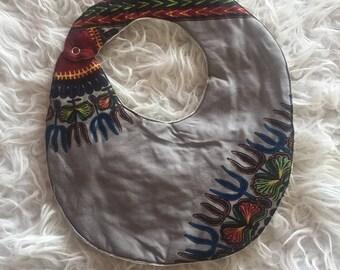 Gorgeous bib wax dashiki pattern