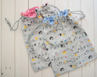 Children's Daycare bags, exchange bags, hospital bag, object holder, children's gift, baby change, children accessories
