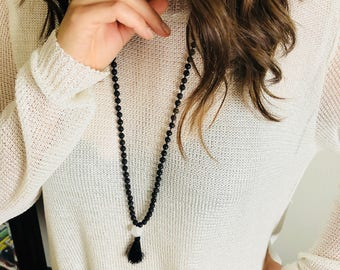 6mm lava rock mala