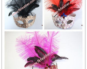 Feather Mask - 09