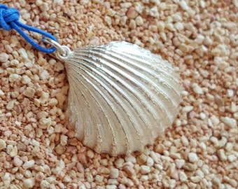 """Silver pendant """"Cappa"""" from the collection """"The Sea Within"""""""