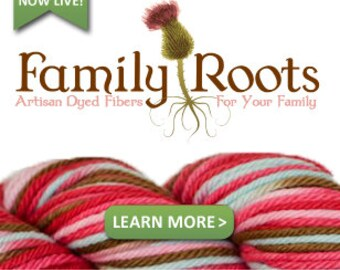 Mini Version of the Family Roots Legacy: A Guide to Dyeing Yarn - the FUN way. With 5 popular colorway recipes. Business or hobby use!