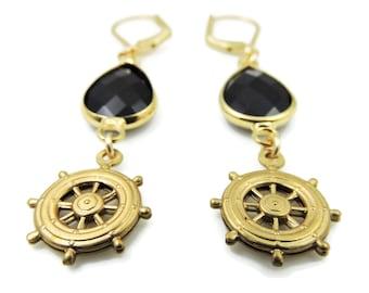 They sailed the 7 seas earrings