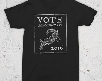 Vote Black Phillip 2016 T-Shirt The Witch